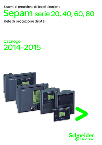 Catalogo Sepam serie 20, 40, 60, 80